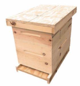 2 pack NUC Deep Hive Bodies Defect